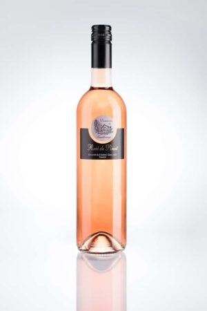 bouteille de rosé