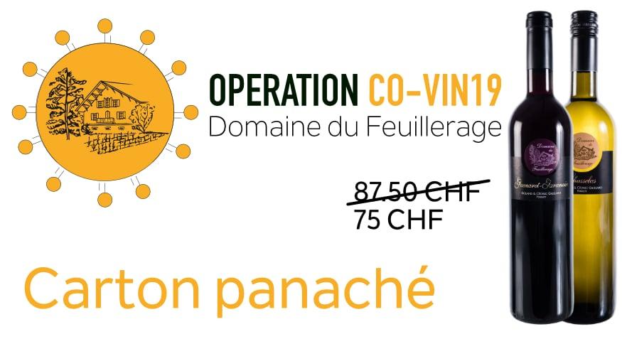 Carton spécial CO-VIN 19 panaché